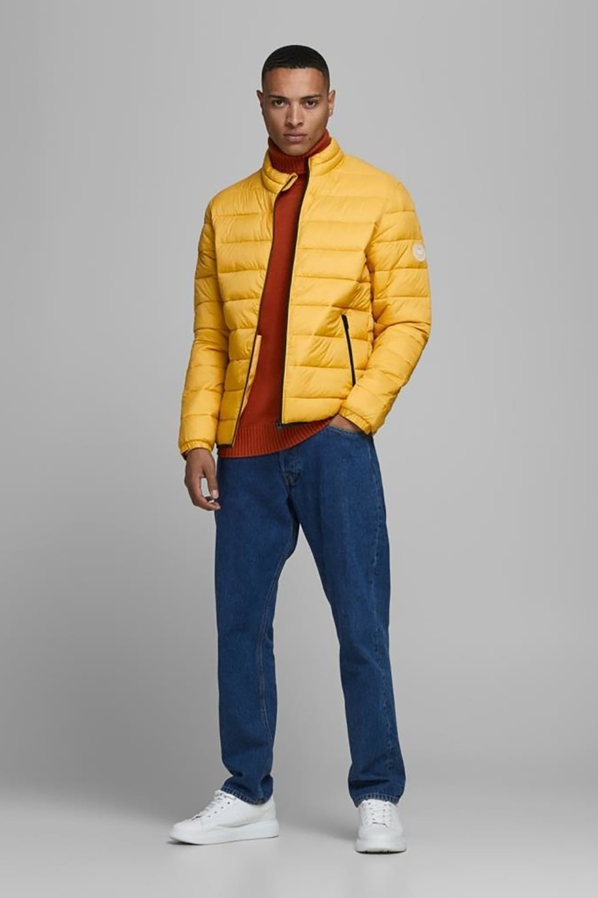 Jack & Jones Jjemagıc Puffer Erkek Mont Yolk Yellow 2