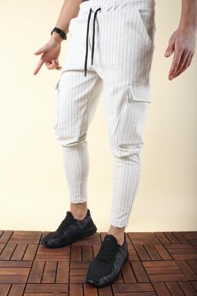 Oksit Caps 120 Full Likralı Dar Paça Kargo Pantolon