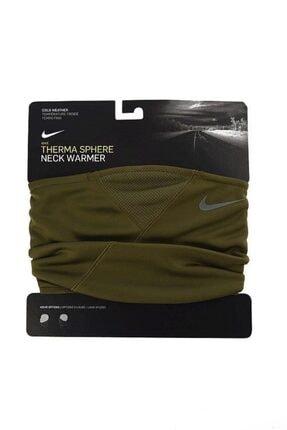 Nike Therma Sphere Neck Warmer Yeşil Koşu Boyunluk (N.wa.63.341.os)