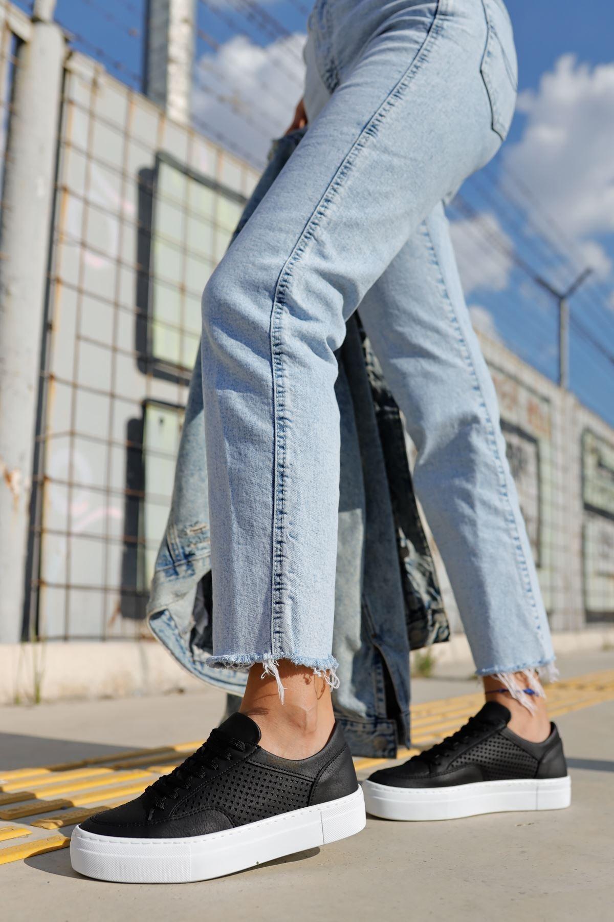 Chekich Ch015 Bt Kadın Ayakkabı Sıyah 2
