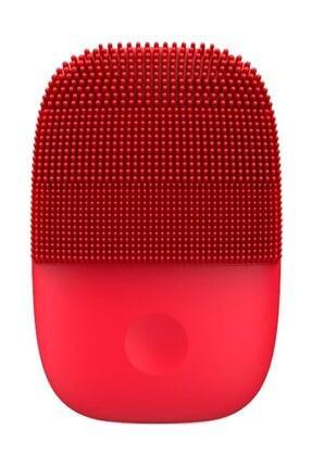 inFace Kırmızı Sonic Yüz Temizleme Ve Masaj Cihazı 5 Kademeli Titreşim Modu