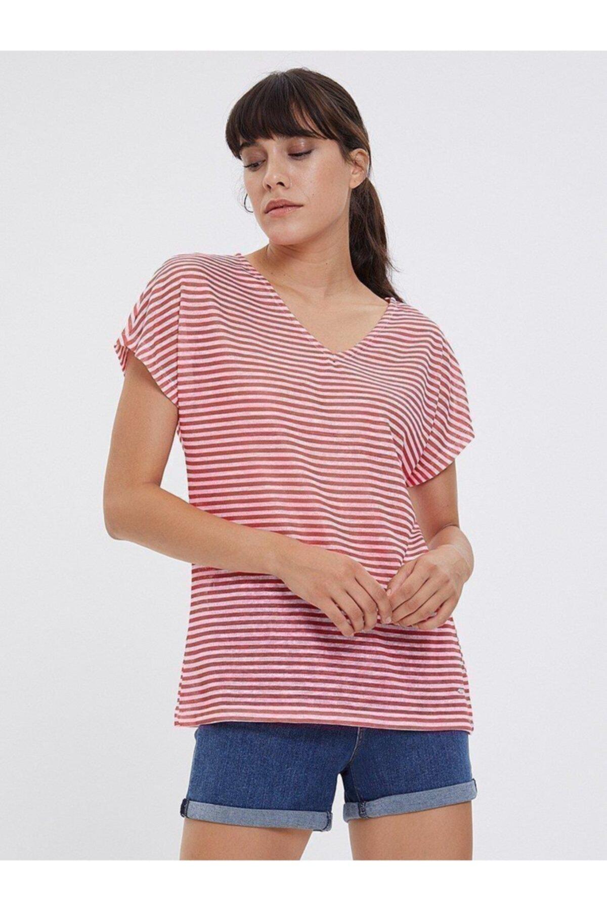 Loft Regular Fit Kadın Tshirt Kısa Kol T-shırt 1
