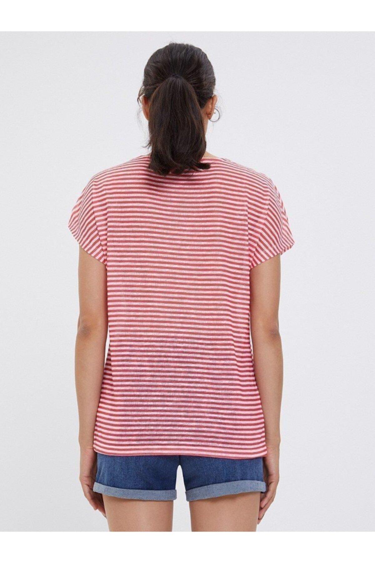 Loft Regular Fit Kadın Tshirt Kısa Kol T-shırt 2