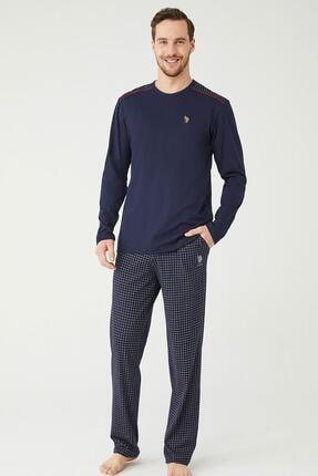 U.S POLO U.s. Polo Assn. Erkek Yuvarlak Yaka Pijama Takımı 18336