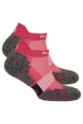 NORFOLK Pembe Coolmax Koşu Çorabı Bolt