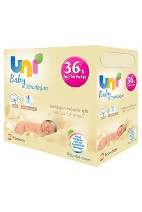 Uni Baby Yenidoğan Islak Pamuk Mendil 36'lı Paket (1.440 Yaprak)