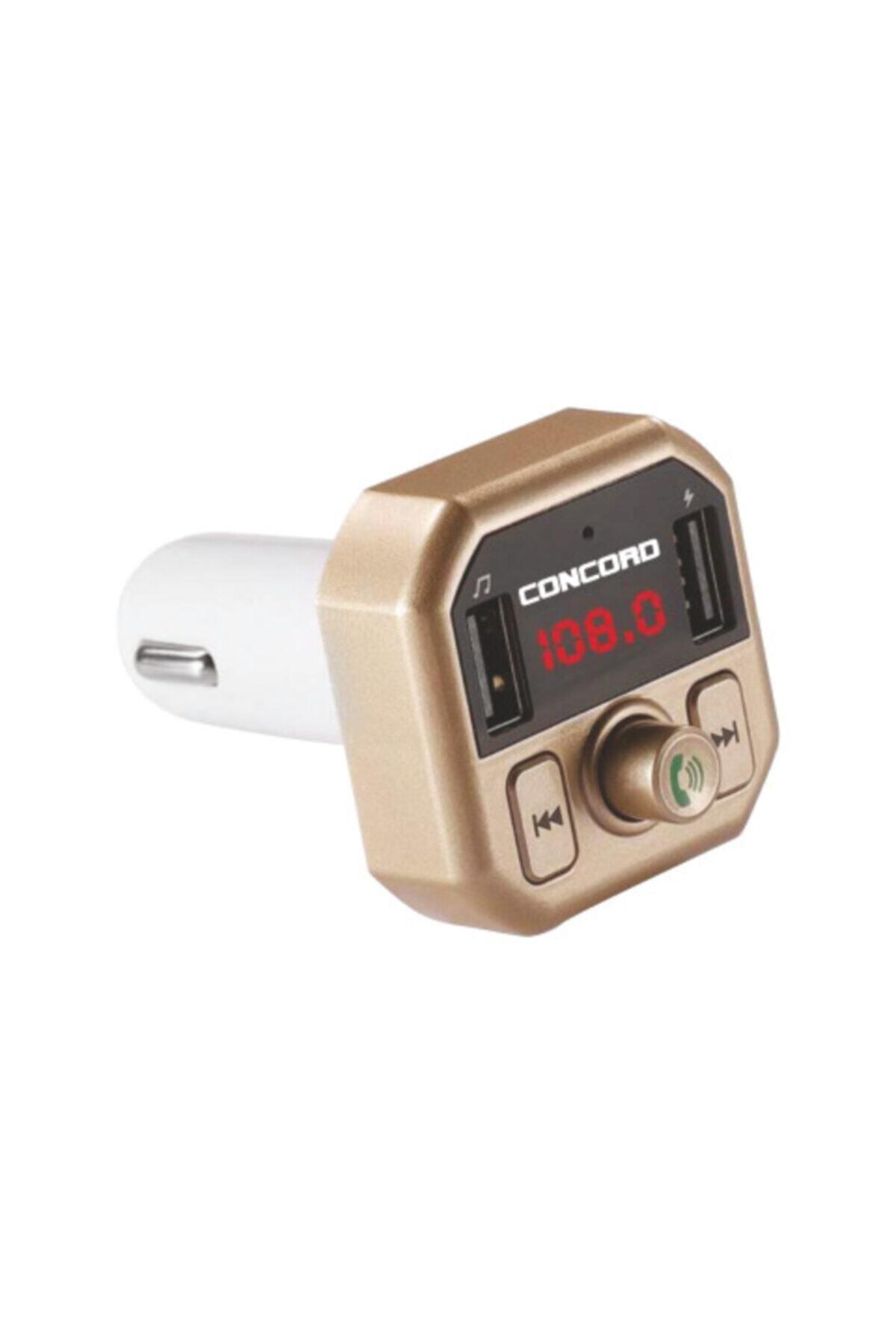 Concord C-609 |3.1a Çift Usb| Tf | Bt | Fm Transmitter 2