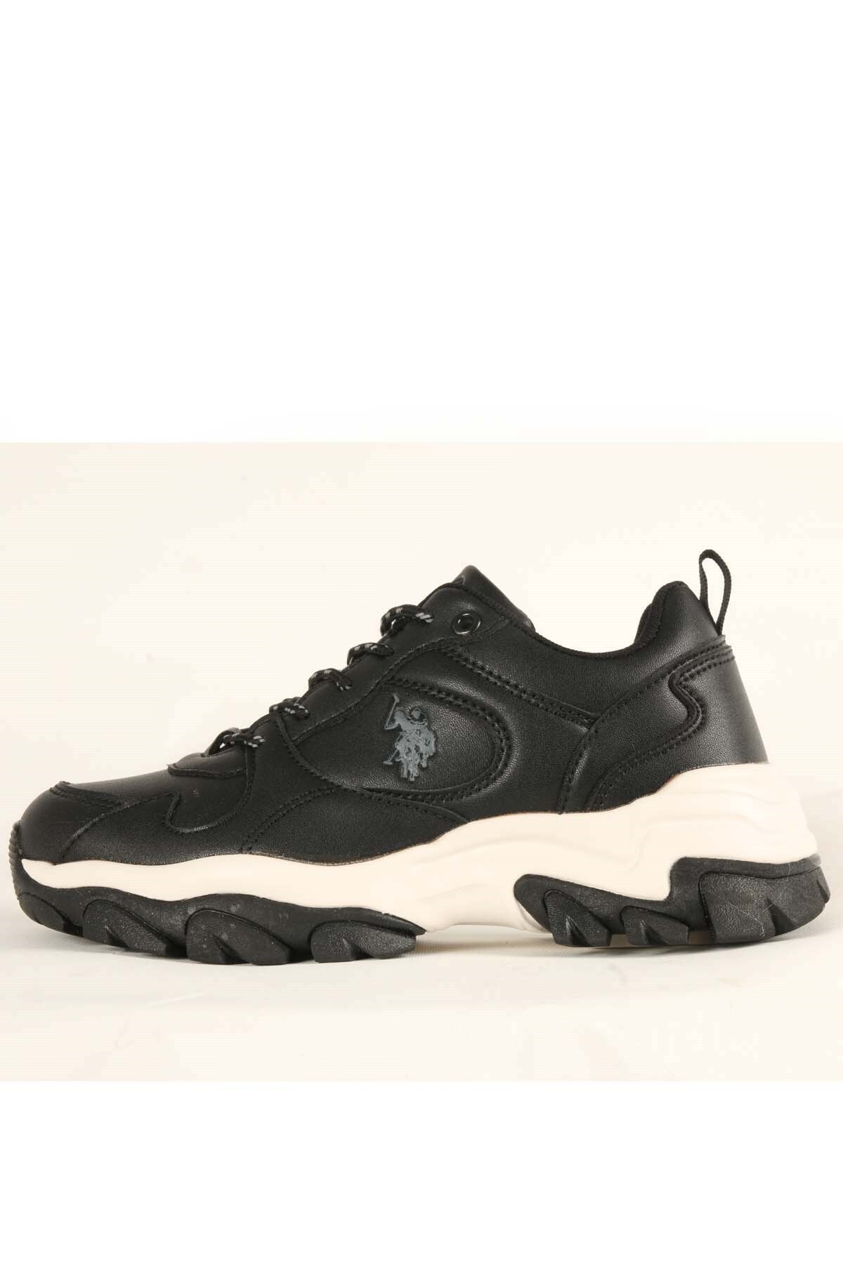 U.S POLO TRACKY Siyah Kadın Fashion Sneaker 100551450 1