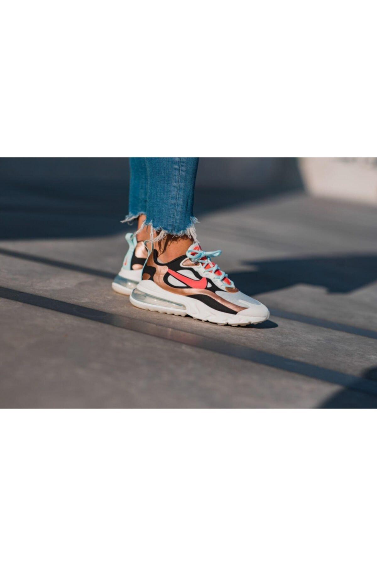 Nike Air Max 270 React Sneaker Kadın Ayakkabı Ct3428-100 2