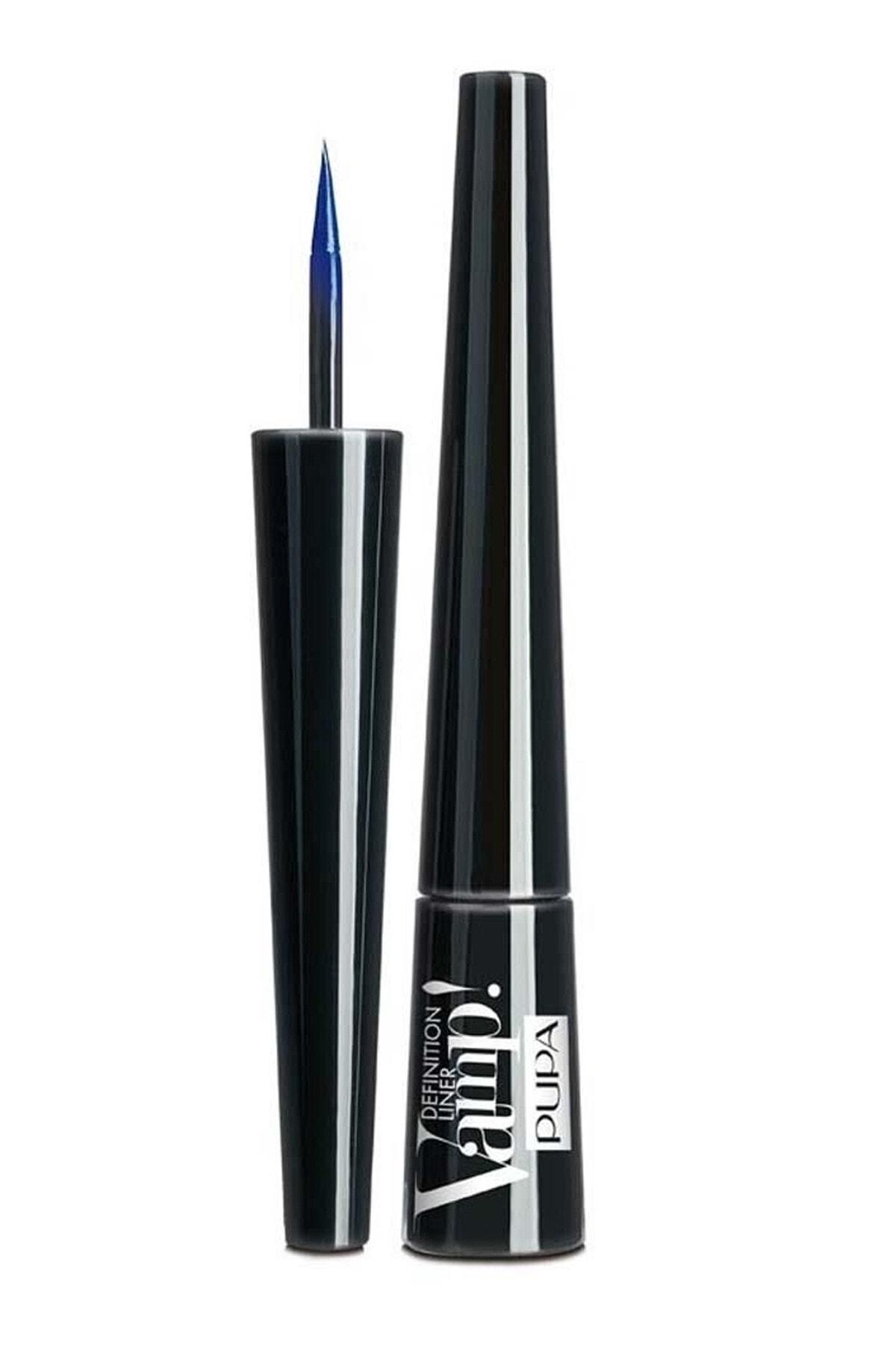 Pupa Milano Eyeliner - Vamp Definition Liner Matte Deep Blue 1