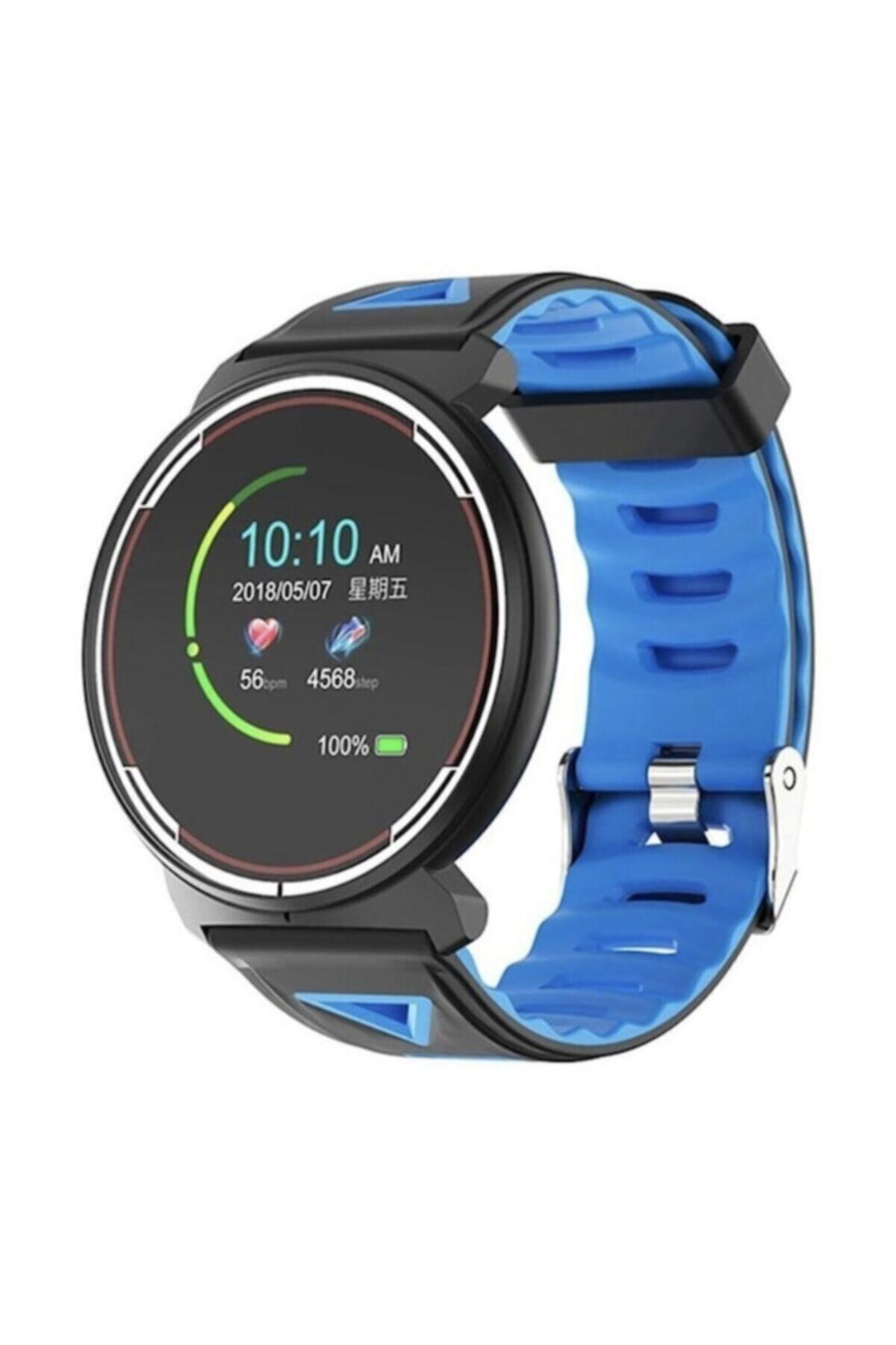 hesaplısıburda Mavi Kinboss Bracelet St1 Kingboss Akıllı Saat - 1