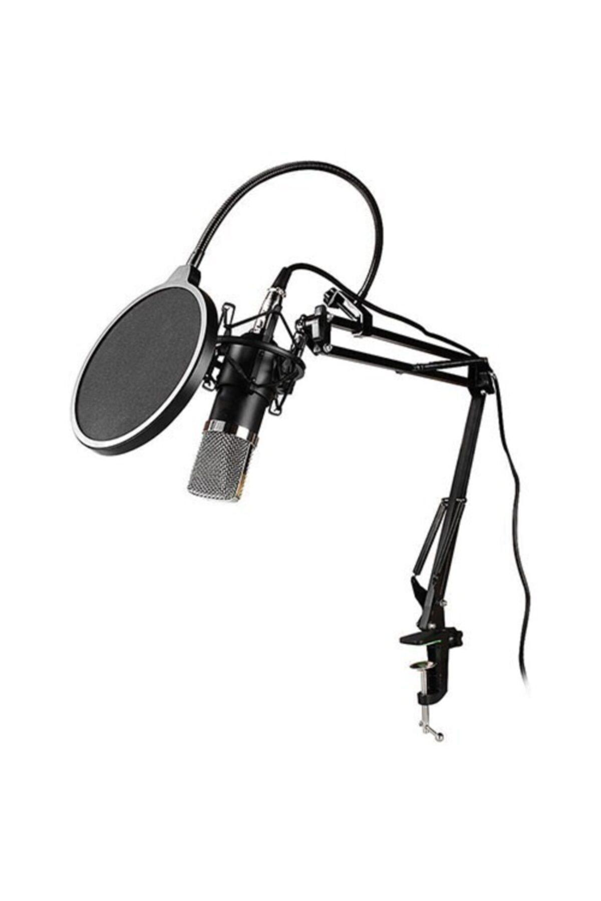 Snopy Sn-03p Profesyonel Stand Ve Filtreli Youtuber Ve Masaüstü Mikrofon 1