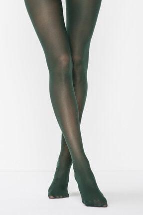 Penti Mikro 40 Koyu Yeşil Külotlu Çorap | Pclpp16k15sk-ky