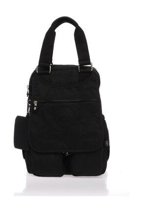 SMART BAGS Siyah Kadın Sırt Çantası Smb1174