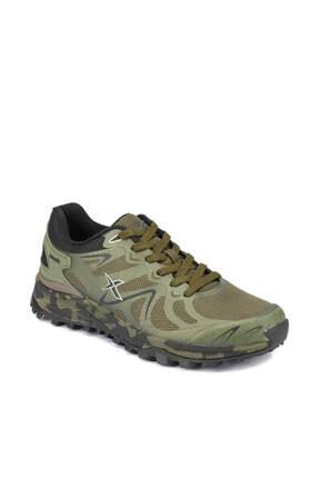 Kinetix Reborn Haki Siyah Yeşil Erkek Koşu Ayakkabısı 100334633