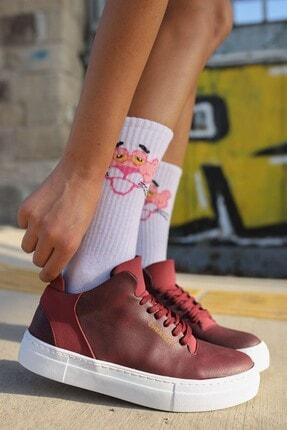 Chekich Ch004 Bt Kadın Ayakkabı Bordo