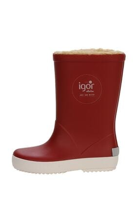 IGOR SPLASH NAUTICO BORREGUITO Kırmızı Kız Çocuk Yağmur Çizmesi 100518768