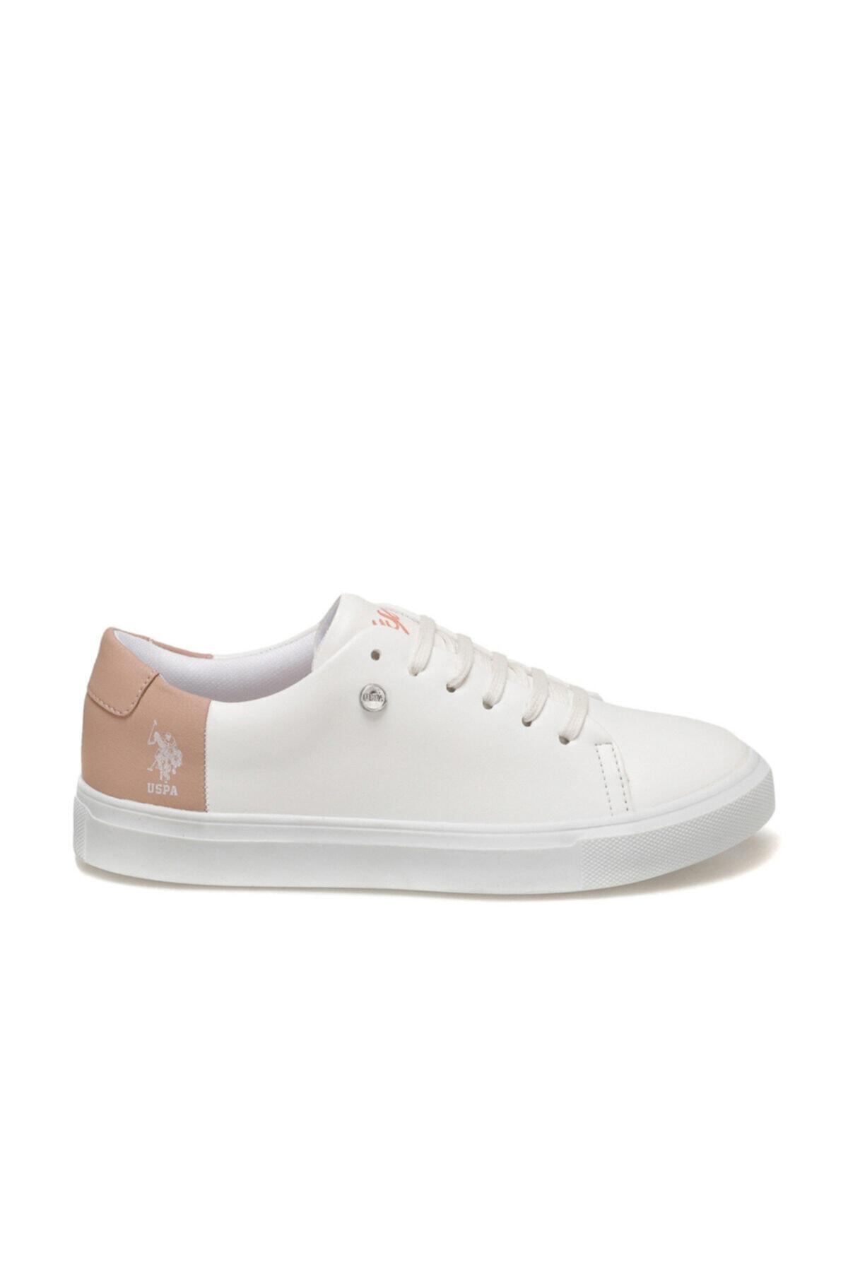 U.S. Polo Assn. Nordes 9pr Beyaz Kadın Sneaker Ayakkabı 2