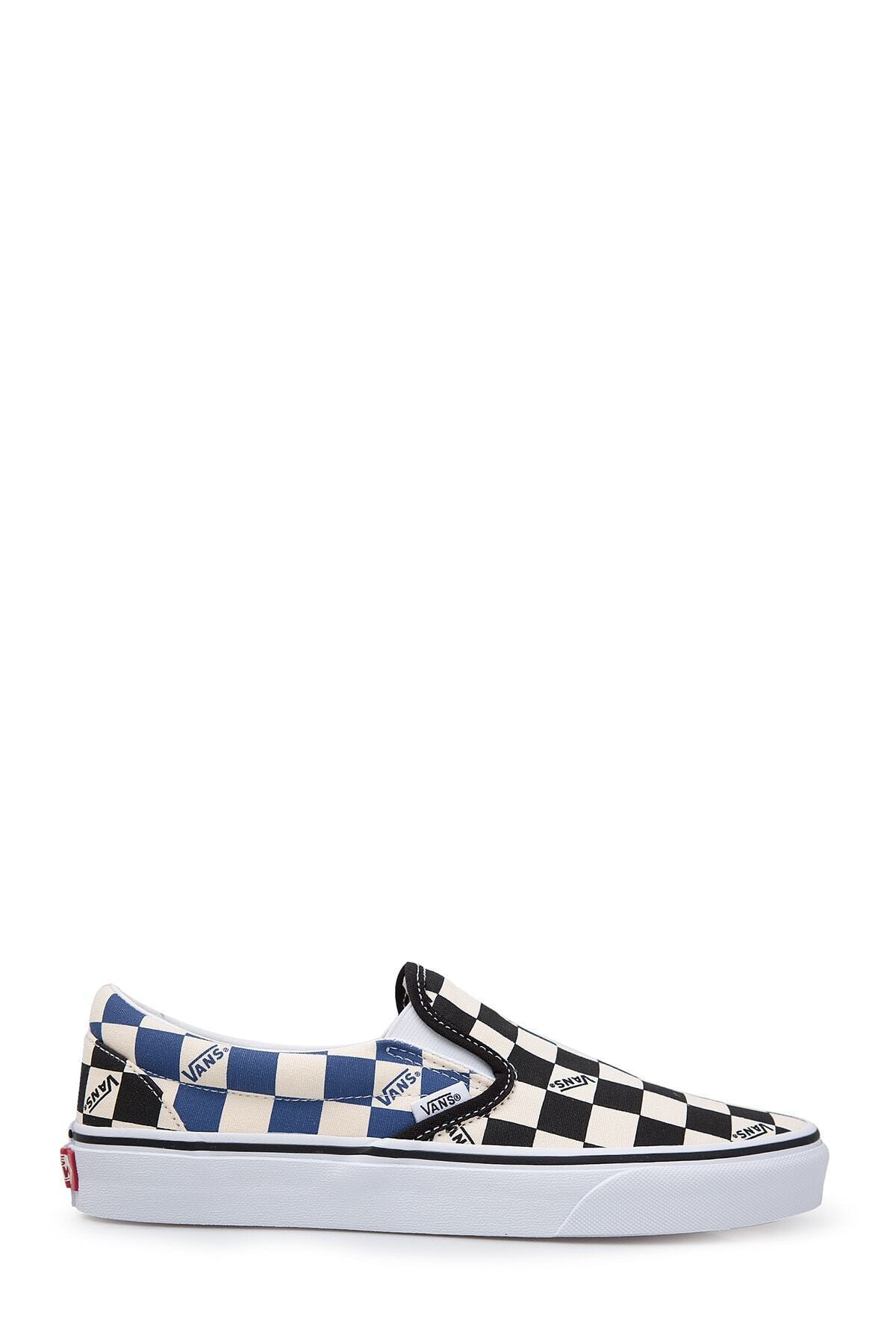 Vans Unisex Siyah Desenli Sneaker Ayakkabı 1