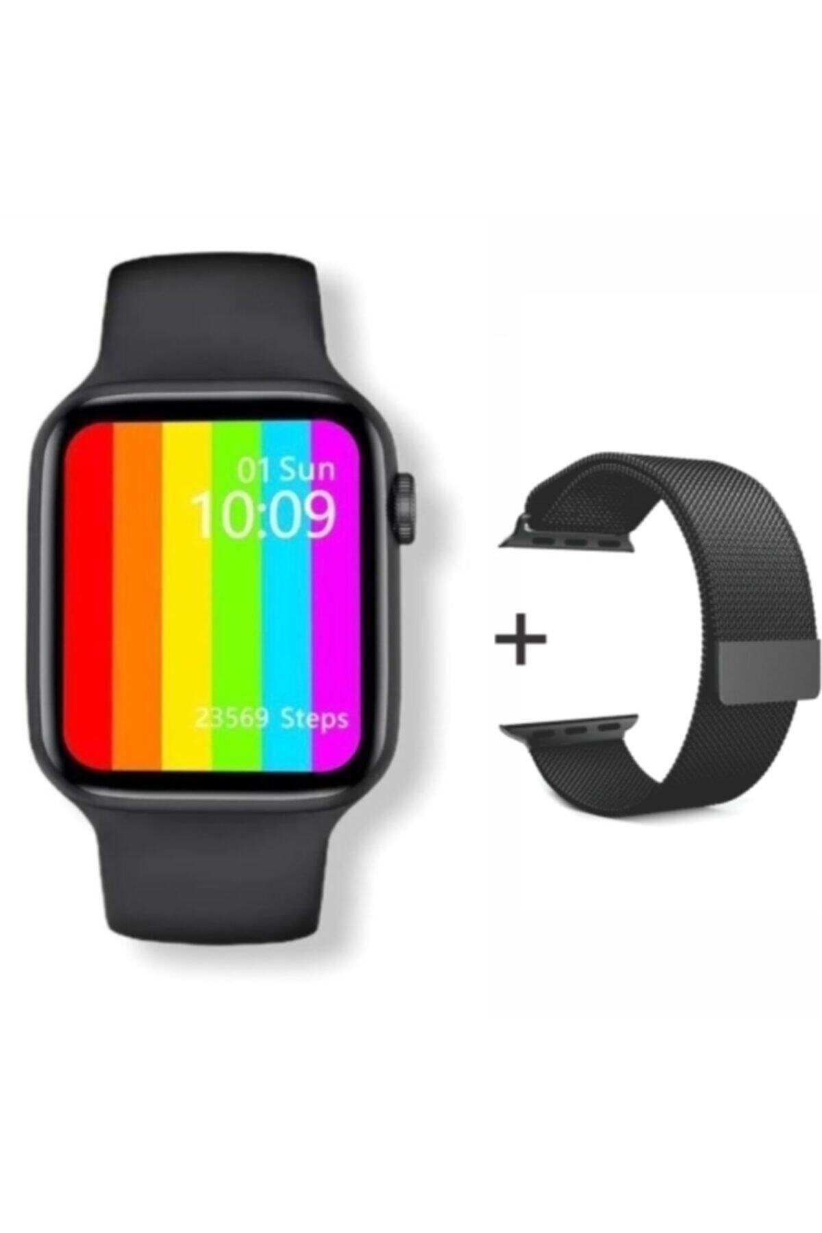 Carmenta Smart Watch 6s Suya Dayanıklı Ateş Ve Nabız Ölçerli Çok Fonksiyonlu Akıllı Saat 2