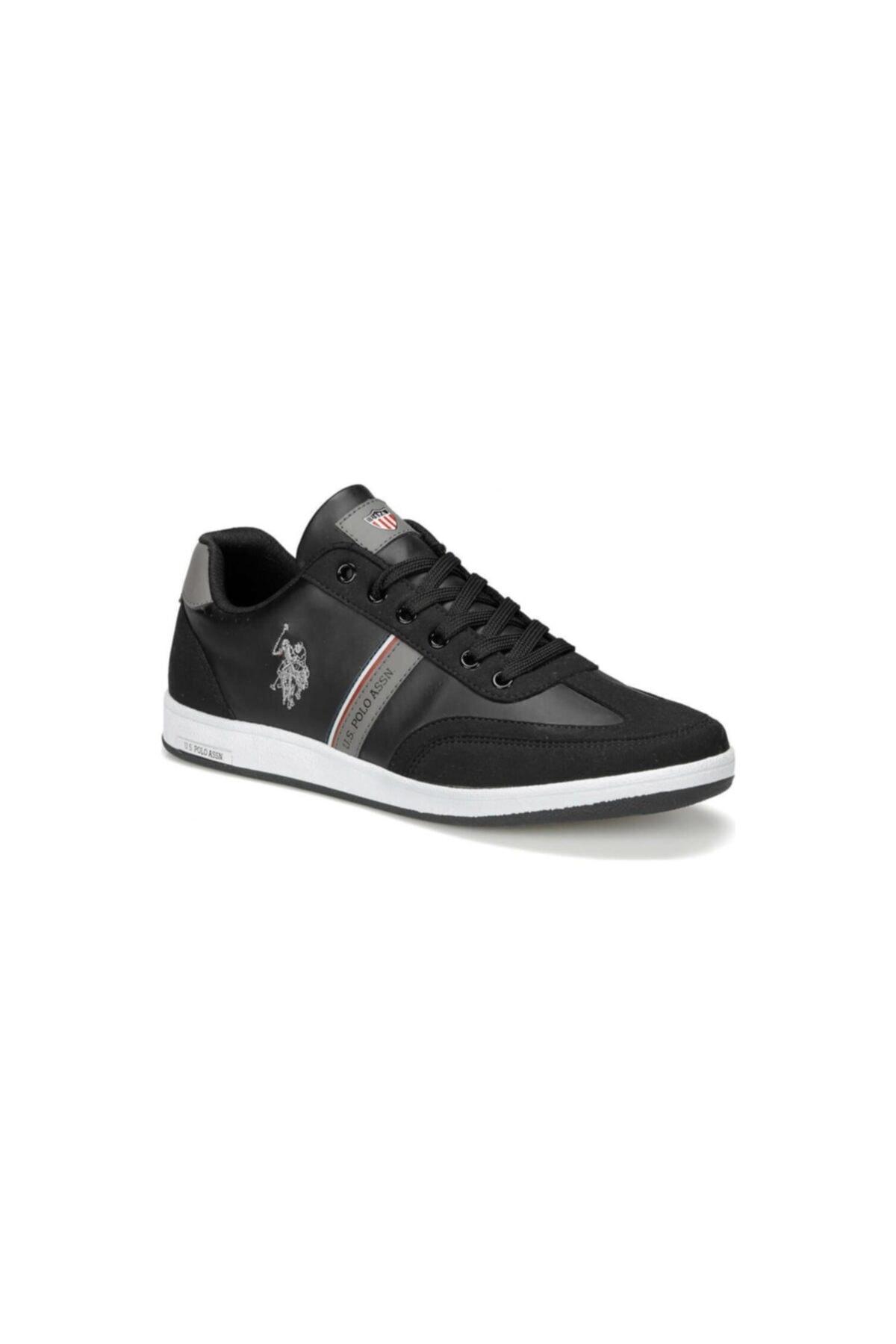 U.S. Polo Assn. KARES WT 9PR Siyah Erkek Sneaker Ayakkabı 100417978 1