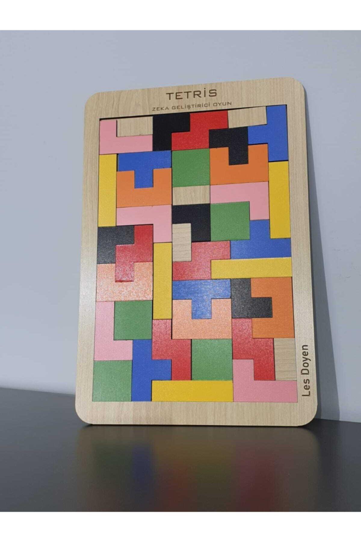 les doyen Eğitici Ahşap Tetris Oyunu Bul Tak 2