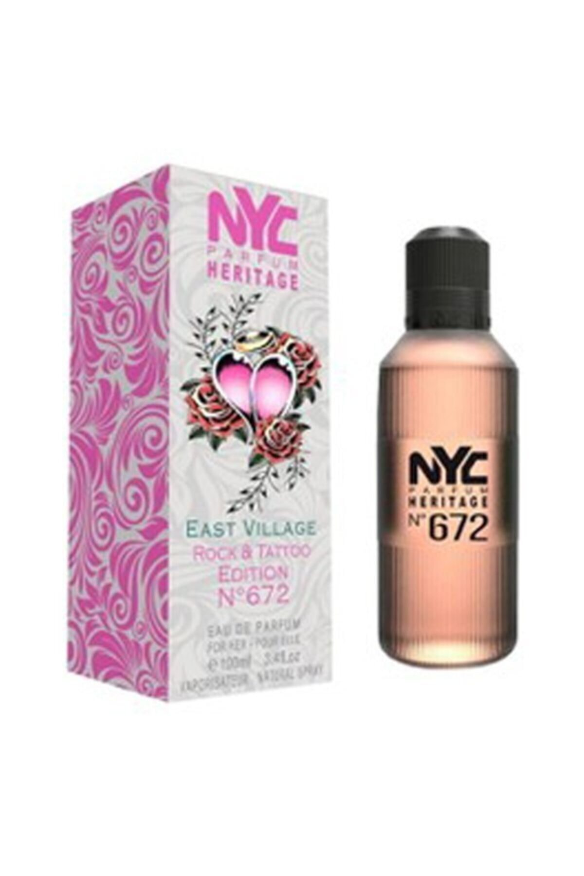 NYC East Vıllage Rock & Tattoo Edıtıon No: 672 Edt 100 ml Kadın Parfüm 875990006727 1