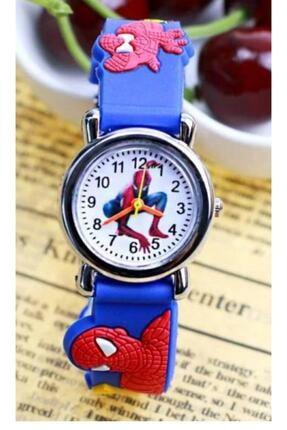 SPIDERMAN Erkek Çocuk Mavi Örümcek Adam  Saat Kol Saati