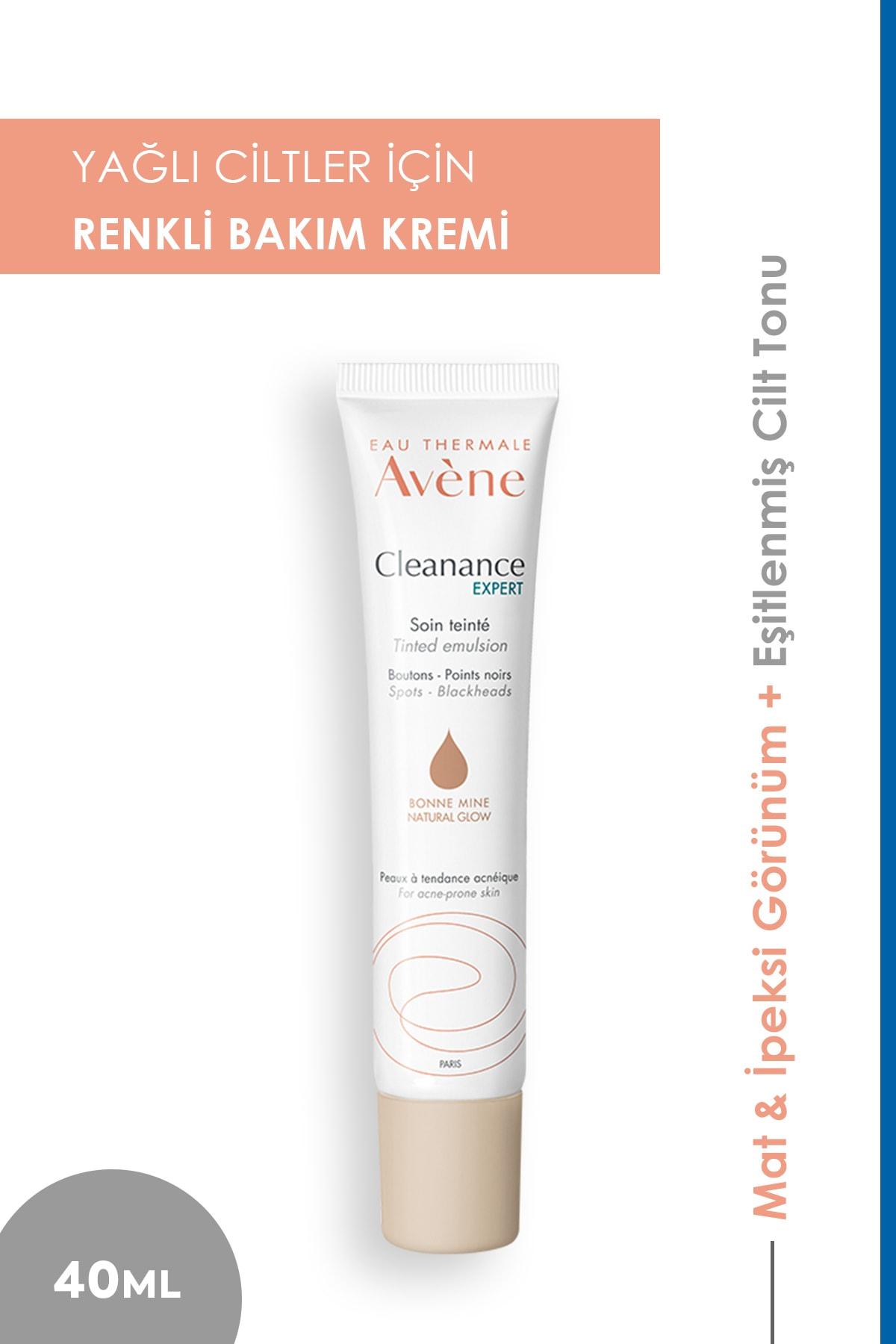 Avene Cleanance Expert Tinted Emulsion Renkli Yüz Temizleyici 40 ml 1
