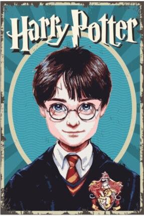 Hayat Poster Harry Potter Portre Retro Vintage Ahşap Poster 20 Cm X 30 Cm
