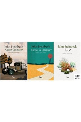 Sel Yayıncılık John Steınbeck 3 Kitap Set / Inci - Fareler Ve Insanlar - Gazap Üzümleri
