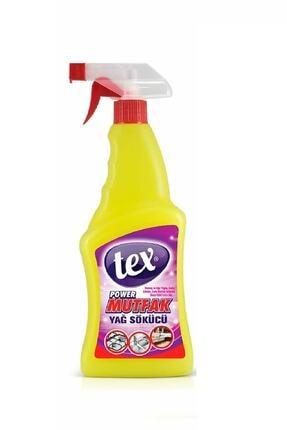 Tex Yağ Çözücü Sprey 750 ml