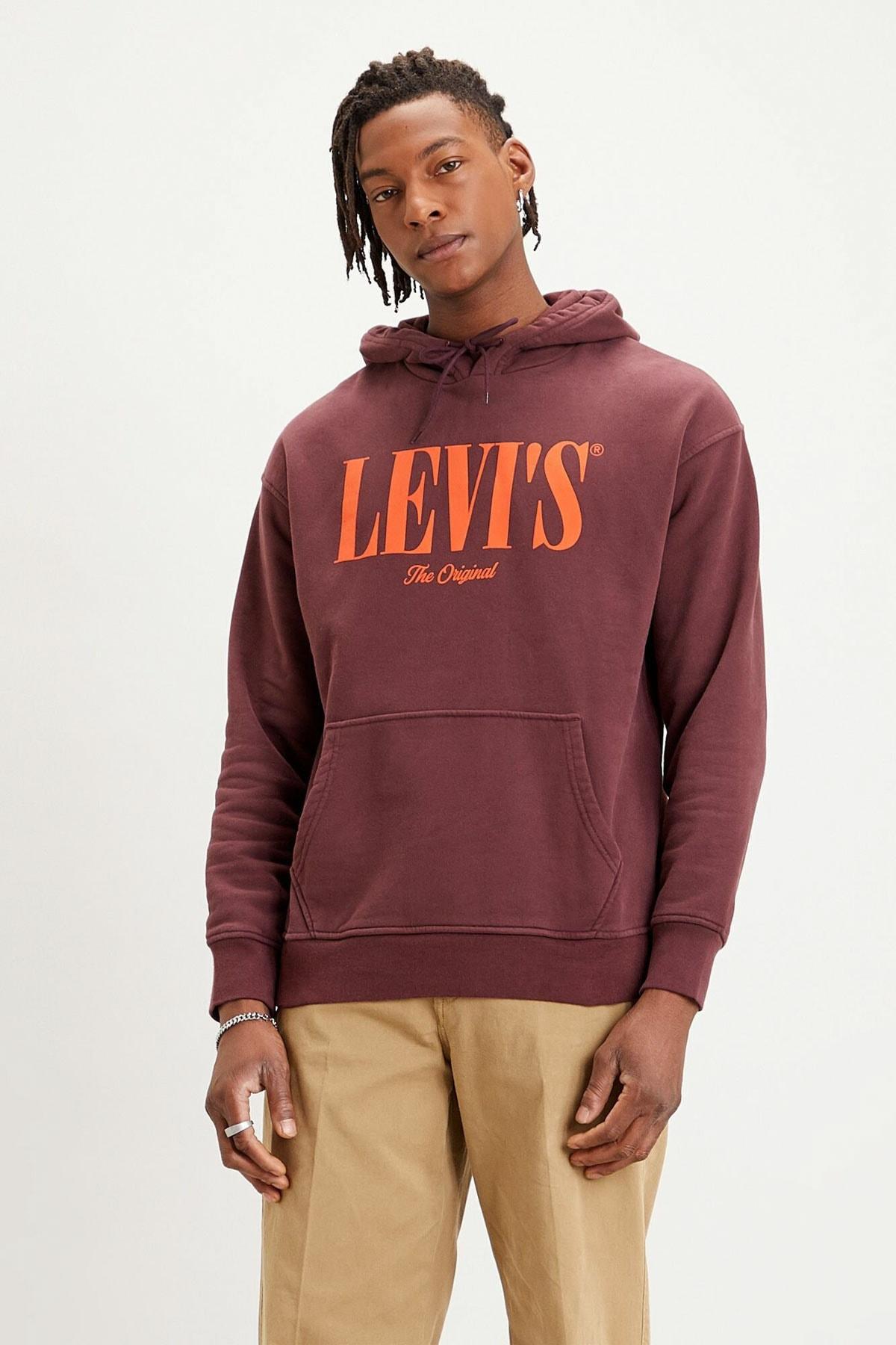 Levi's Erkek Relaxed Graphic Hoodie Sweat 38479-0003 1