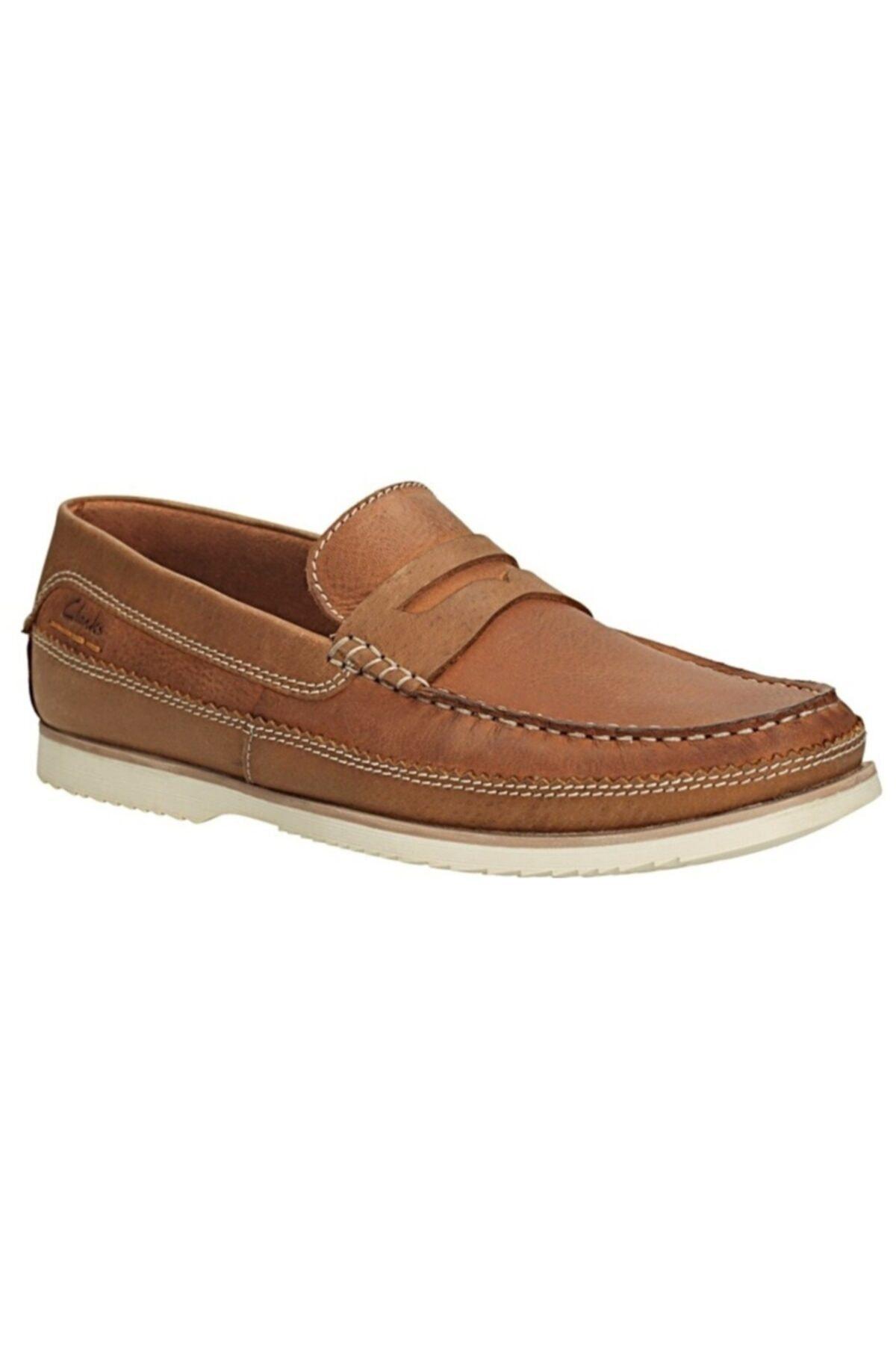 CLARKS Erkek Kahverengi  Nubuk Ayakkabı 2