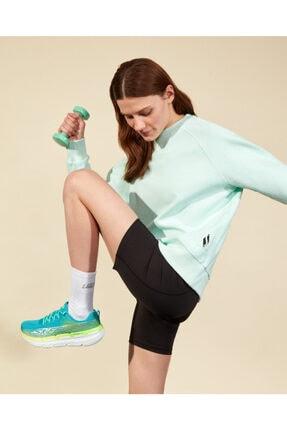 SKECHERS 2XI-Lock W Crew Neck Sweatshirt Kadın Light Green Sweatshirt