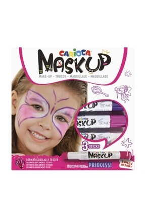 baby carioca Mask Up Yüz Boyası 3 Renk Princess Çocuk Maske Boya