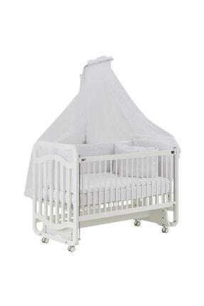 G&G Gg Baby Bianco Sweet Dreams Anne Yanı Beşik Beyaz Uyku Setiyle
