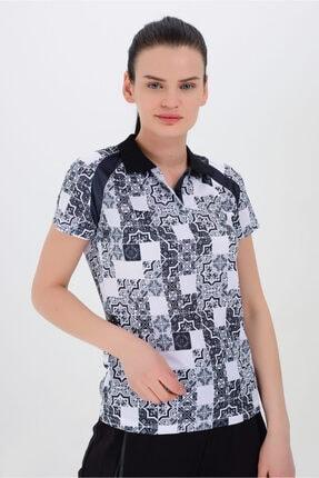 TRYON Kadın Polyester Polo T-shirt Eliz