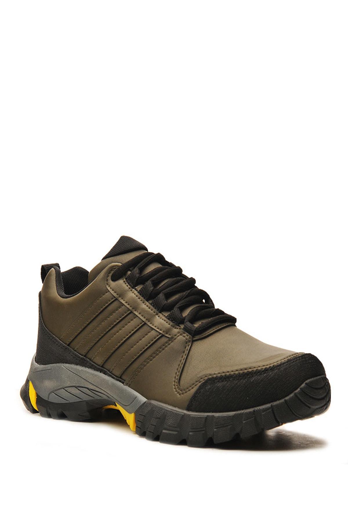 Bulldozer 210420 Hakı Sarı Erkek Treakıng Ayakkabı 2