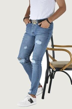 Terapi Men Erkek Slim Fit Kot Pantolon 20y-2100437 Mavi