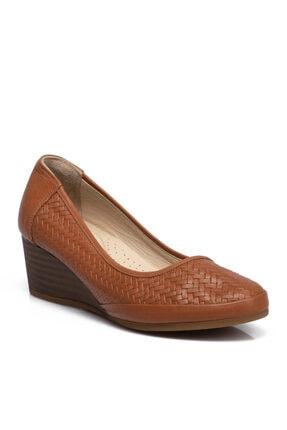 Tergan Taba Kadın Ayakkabı 64499a29