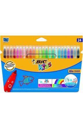 Bic Couleur Ultra Yıkanabilir Keçeli Kalem 24 Renk
