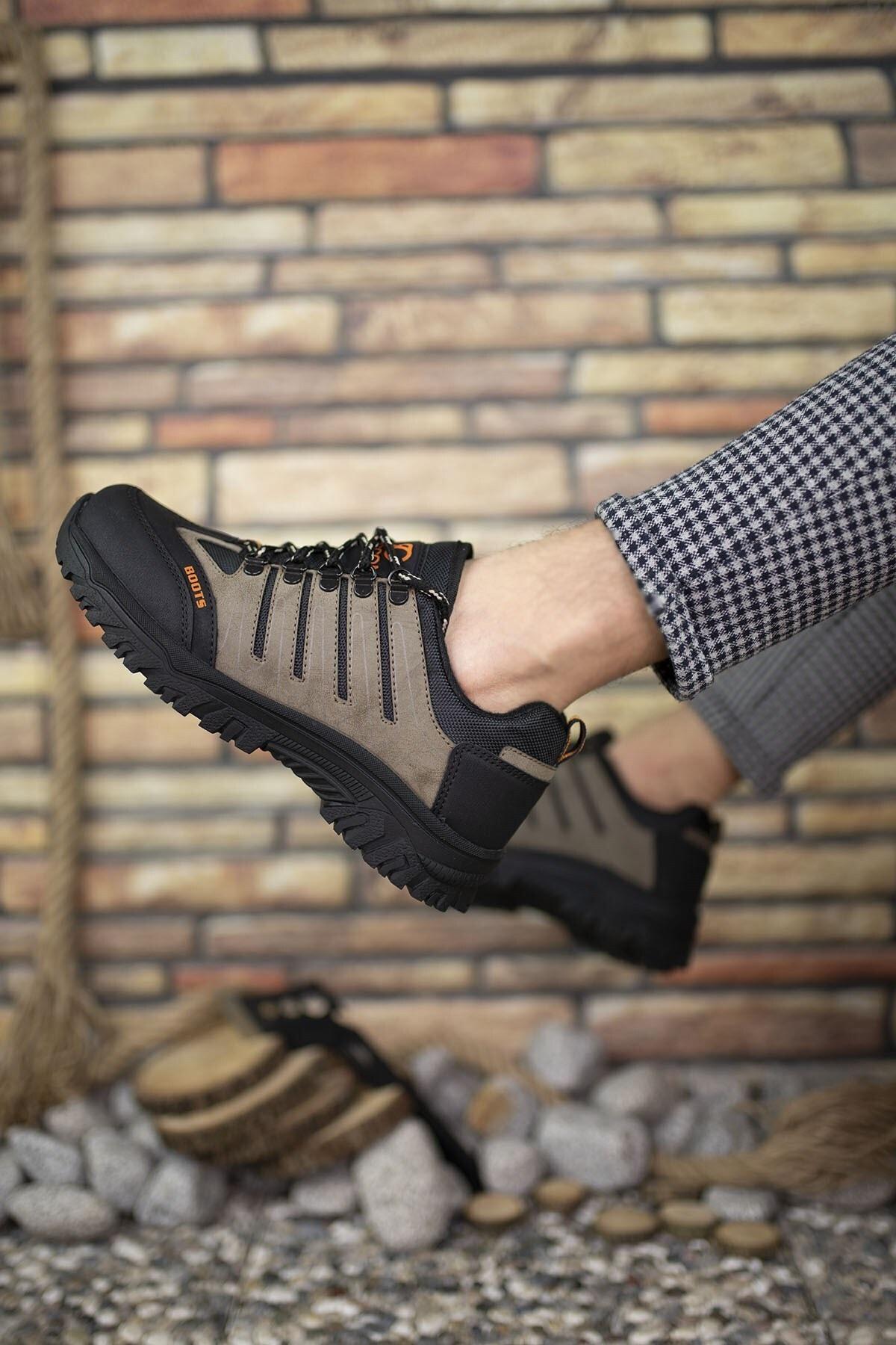 Riccon Vizon Siyah Erkek Trekking Ayakkabı 0012115 2