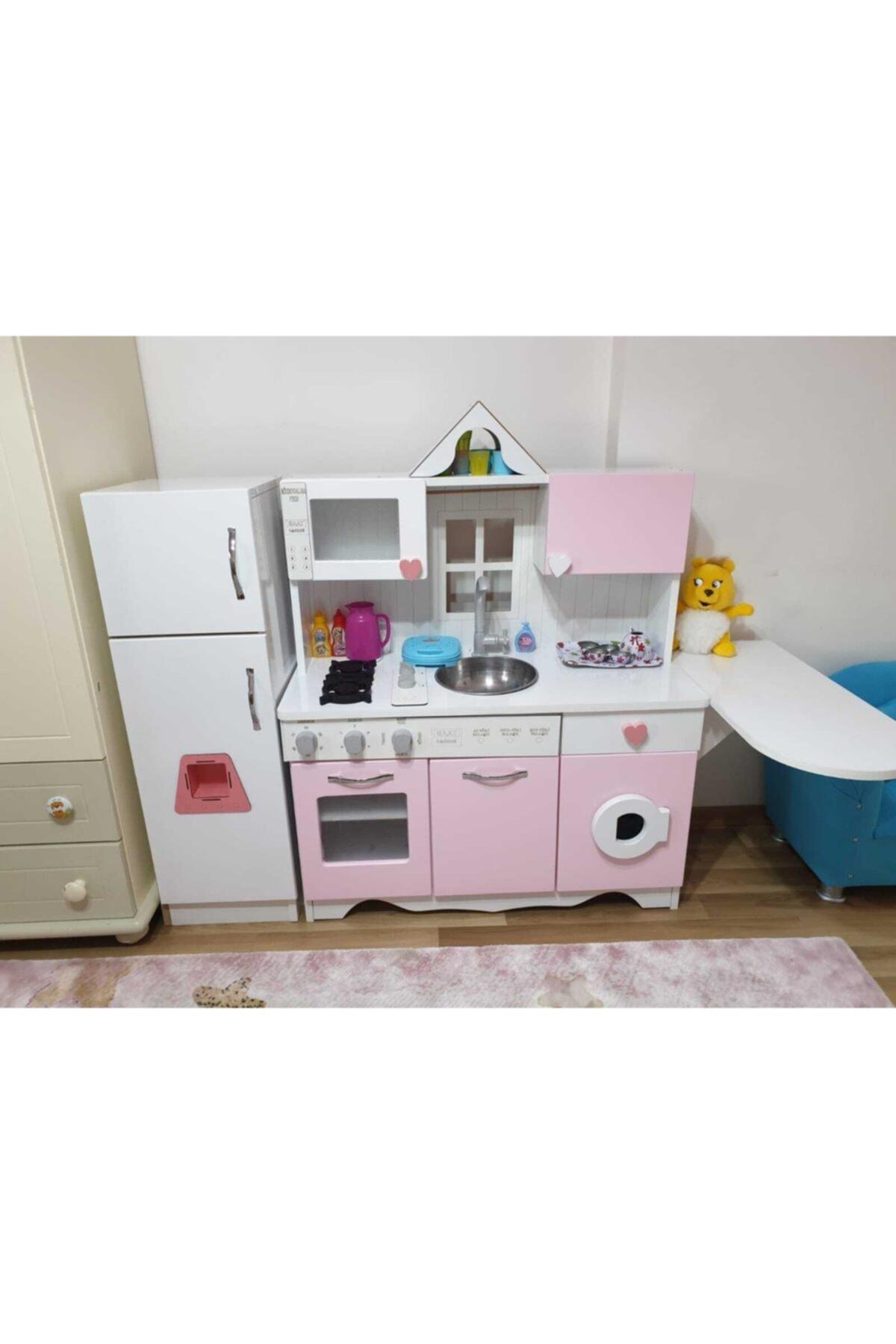 Ahşap Oyuncak Mutfak Model-2 Set 2