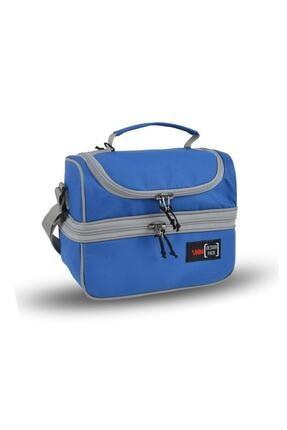 Inn Design Pack Çift Gözlü Termal Beslenme Çantası Mavi