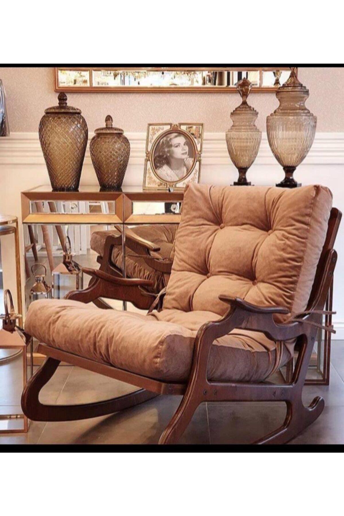 YASÜ Sallanan Koltuk - Dinlenme Koltuğu-baba Koltuğu-bahçe Sandalyesi-tv Koltuğu 1