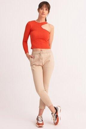 Fulla Moda Beli Lastikli Pantolon