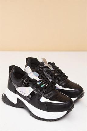 Pierre Cardin PC-30212 Siyah Kadın Spor Ayakkabı