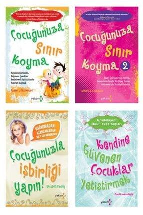 Yakamoz Yayınları Çocuğunuza Sınır Koyma Seti 4 Kitap