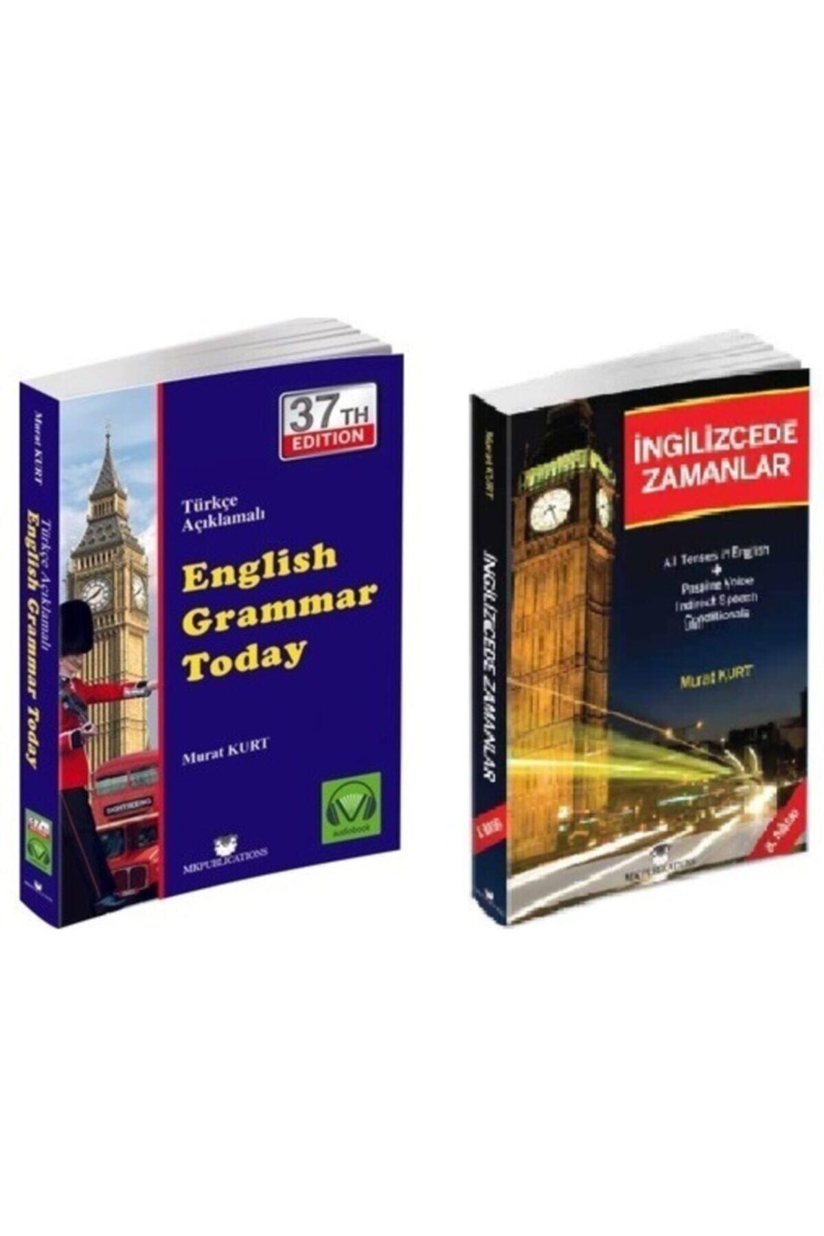MK Publications English Grammar Today - Ingilizce'de Zamanlar - Murat Kurt - Ingilizce Gramer Set - 1